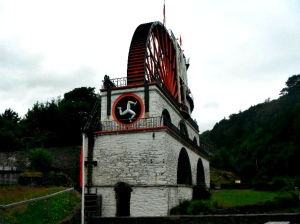Laxey Wheel, in the Isle of Man